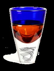 Bicchiere centro della terra